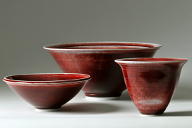 John Masterton - Red Bowls