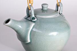 John Masterton - Blue teapot