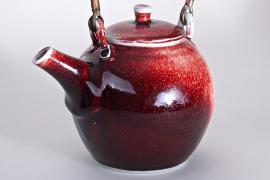 John Masterton - Red teapot